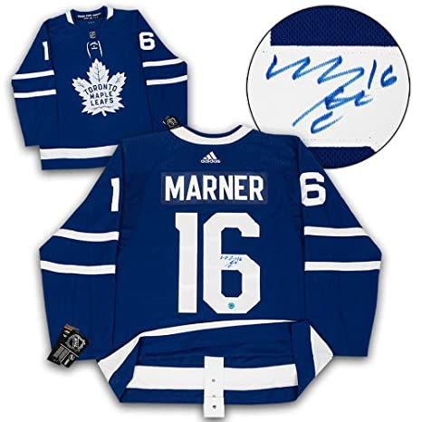 98585f0bfeb Image Unavailable. Image not available for. Color  Signed Mitchell Marner  Jersey ...