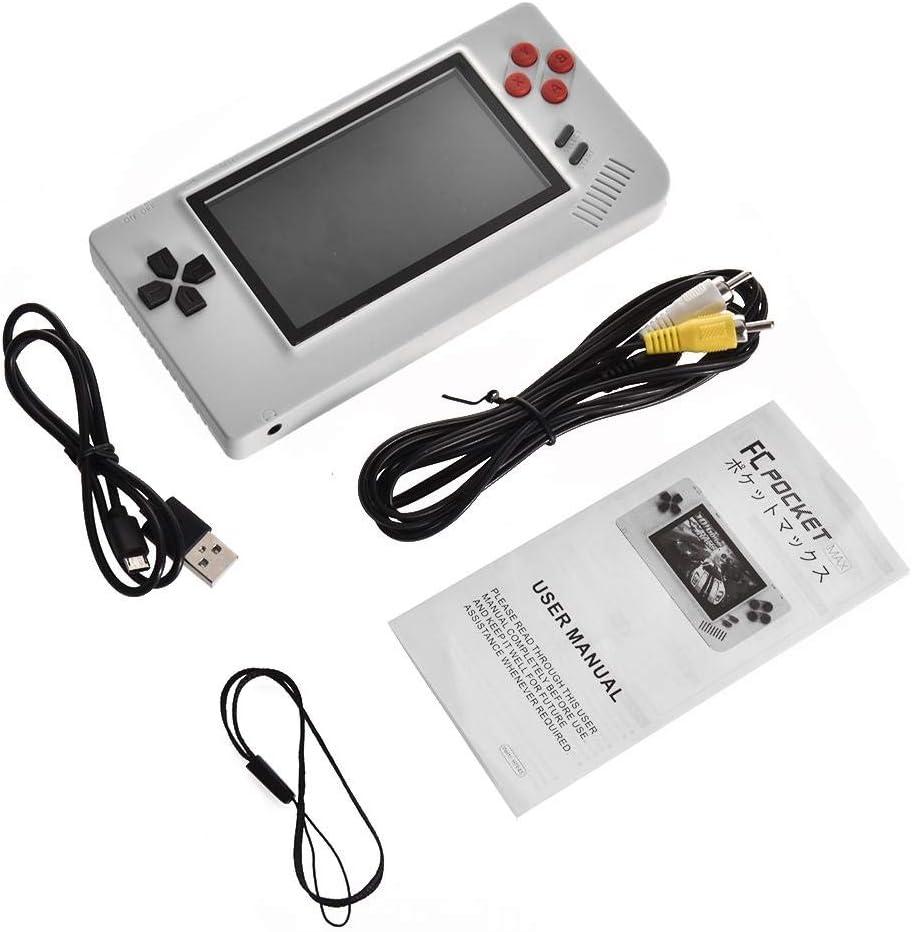 warmheart Handheld-Spielekonsole 4,3-Zoll-High-Definition-IPS ...