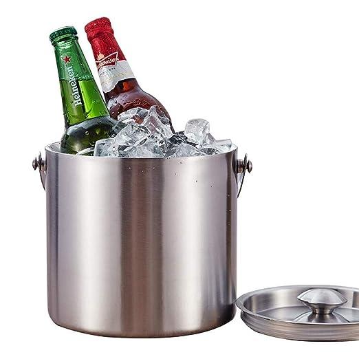 Compra YZBT-ice bucket Hogar Cubeta de Champán, Doble Pared ...