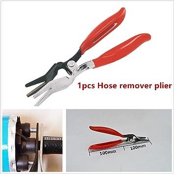 Coche rojo manguera de vacío de combustible línea tubo Remover separador Tubo de alicates herramienta 20 * 7.3 cm: Amazon.es: Coche y moto