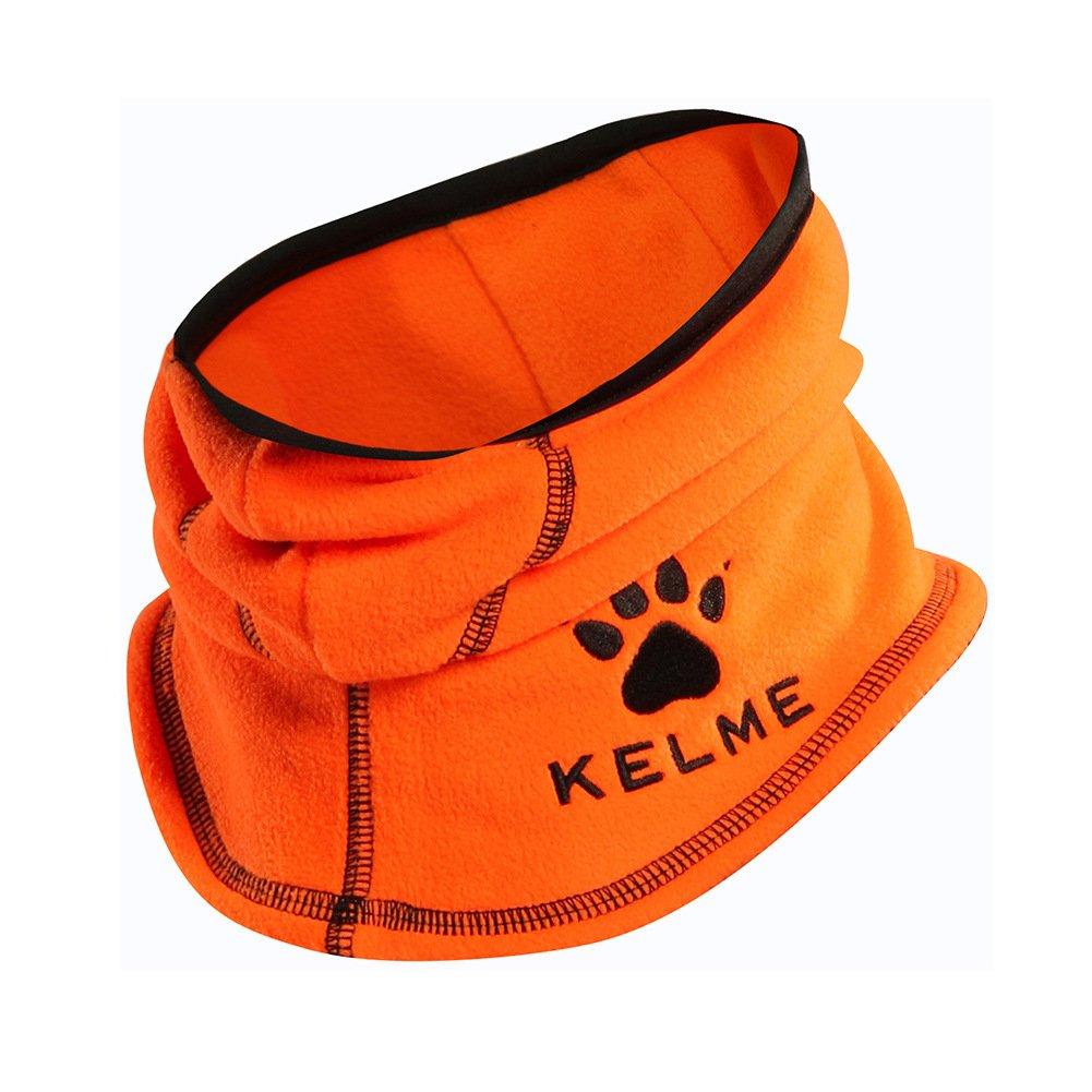 Kelme Neck Gaiterウォーマー防風ダスト2層のフェイスマスク大人用&子供用 OneSize-Adult オレンジ B07BDG8G1D