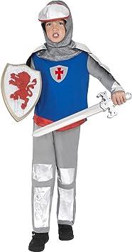 Traje o armadura de caballero accesorios disfraz guerrero Edad ...