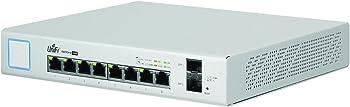 Ubiquiti Networks 8-Port 150W PoE+ UniFi Managed Gigabit Switch