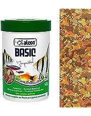 Ração Para Peixe Basic Alcon 50g em Flocos Alcon Para Peixes