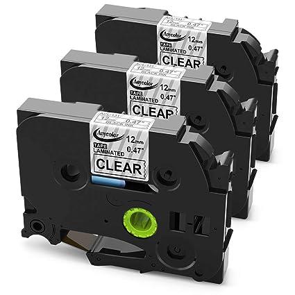 TZE-131 schwarz-transparent Schriftband-Kassette für Brother P-Touch wie TZ-131