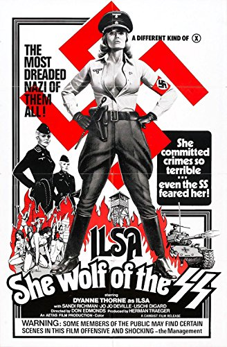 Gifts Delight Laminated 21x33 Poster: Ilsa she Wolf of ss Poster