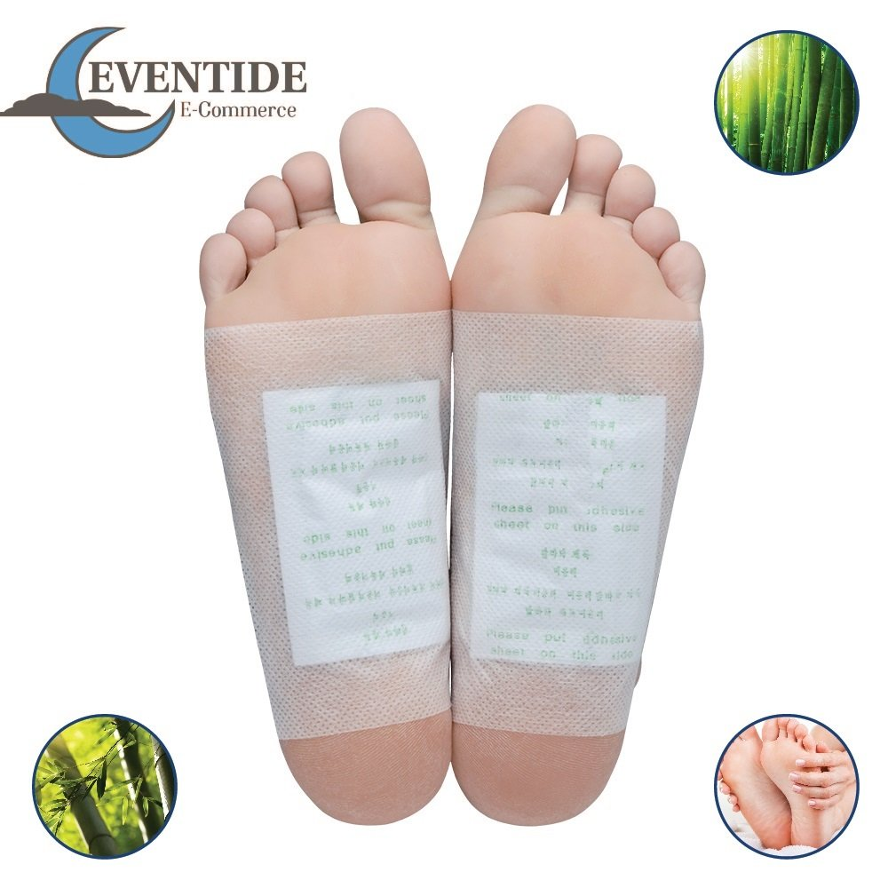 Premium Foot Pads: (50pc) - Rapid Pain Relief & Foot Health, Fresh Scent, New Formula for 2019 by Eventide