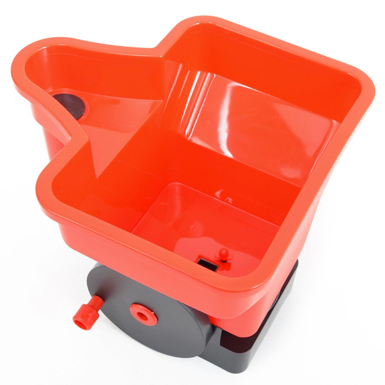 mit ca. 3 Liter Fassungsverm/ögen HECHT Universal-Streuer 33 Hand-Streuer D/üngerstreuer Salzstreuer
