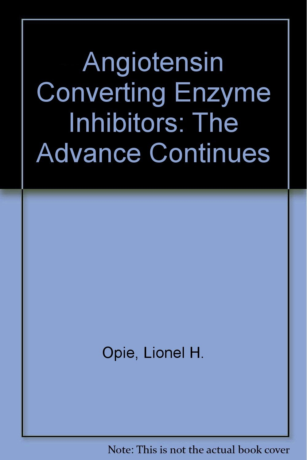 Angiotensin Converting Enzyme Inhibitors: The Advance