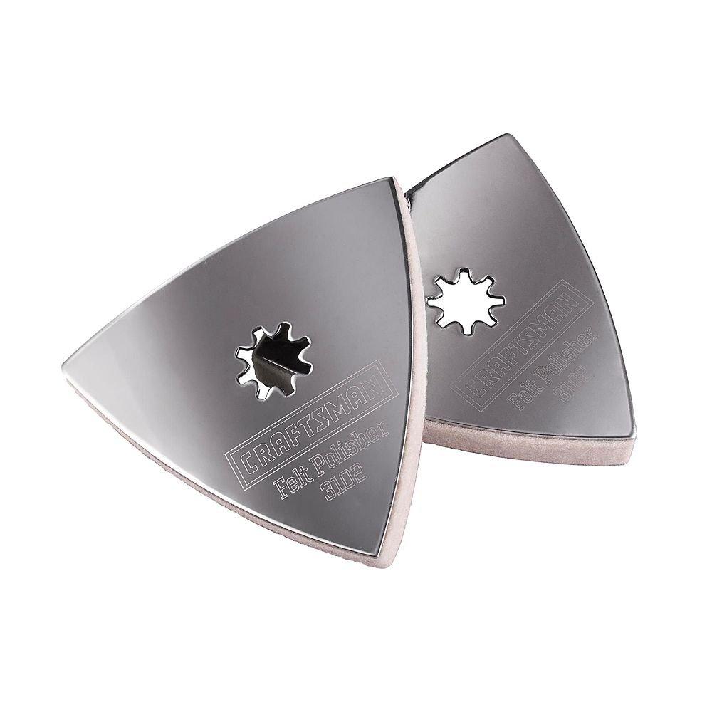 Craftsman Nextec Multi-Tool Universal Felt Polishing Pad #3102 93102