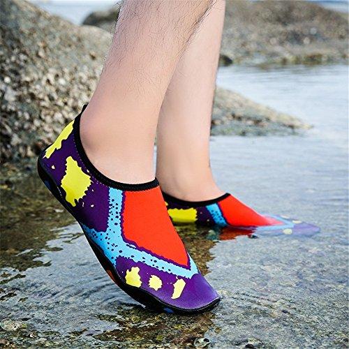 Chaussettes Chaussures Yoga Surf Vibram Course Femmes De Plage Bain Hommes La Chaussures Piscine 3 De Pour Juleya Eau De Peau w0pRTqxq5