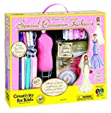 Creativity for Kids Designed by You Special Occasion Fashions, Dress Design Kit For Kids