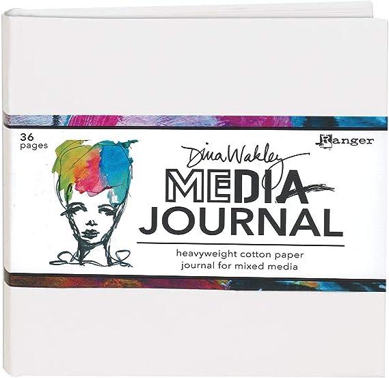 "Dina Wakley Media Stencils 9/""X6/""-Big Squovals"