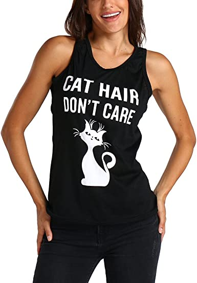 Luckycat - Camiseta de Tirantes para Mujer, sin Mangas ...