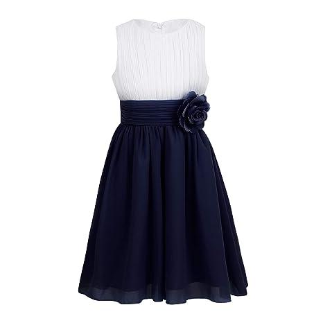 d8c5d8e8769 Amazon.com  Kids Girls Elegant Wedding Flower Girl Dress Party ...