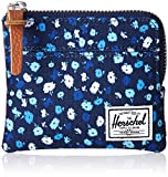 Herschel Supply Co. Men's Johnny Wallet, Peacoat Mini Floral RFID, One Size