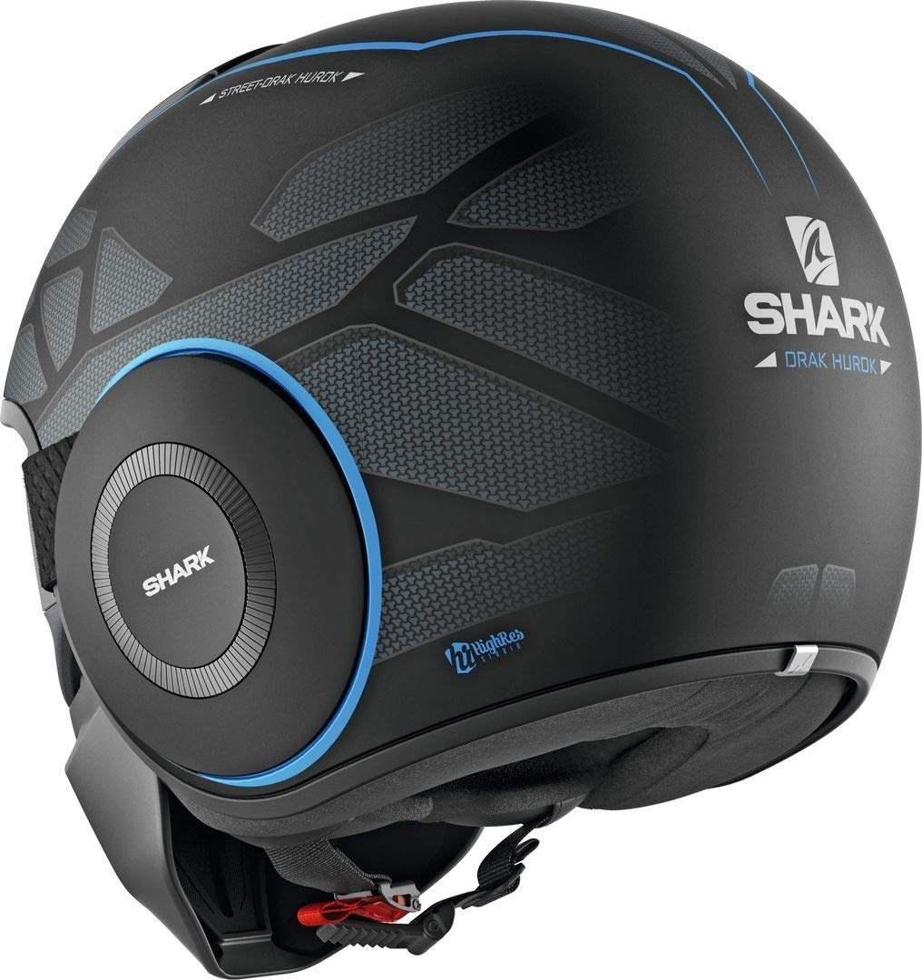 Shark Motorcycle helmets STREET DRAK HUROK MAT KBK