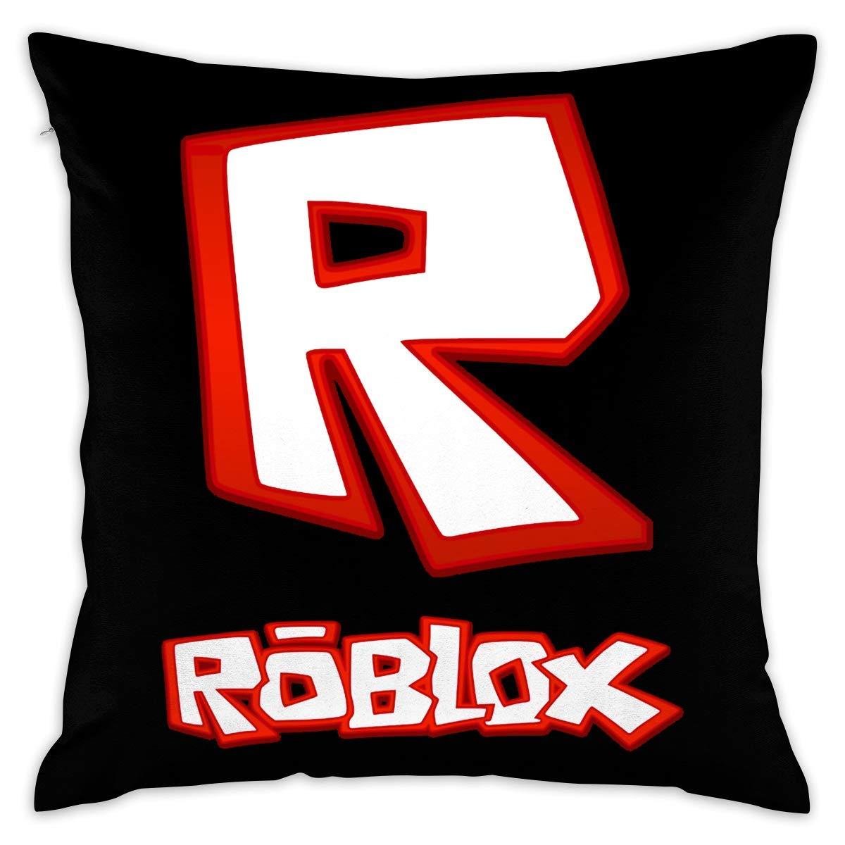 SWARON Roblox Video Game Decorative Throw Pillow Covers Case Pillowcases Fundas para Almohada (45cmx45cm)