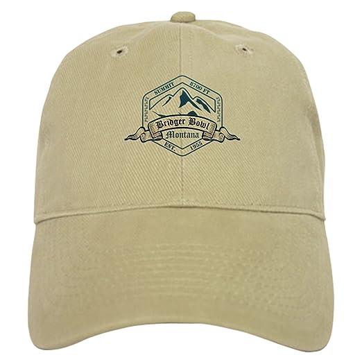 CafePress - Bridger Bowl Ski Resort Montana Baseball - Baseball Cap with  Adjustable Closure 0e596902ec2