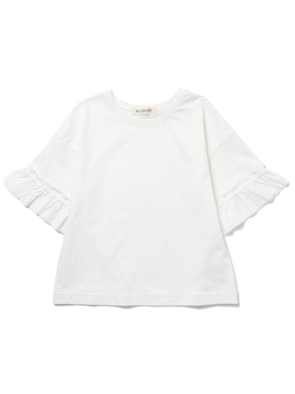 Amazon | (レイビームス) Ray BEAMS サテンギャザーSV PO ONE SIZE OFF WHT | Amazon Fashion 通販