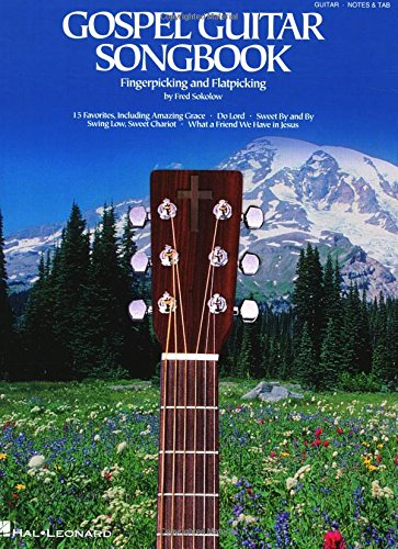 Gospel Music Tablature - Gospel Guitar Songbook: Fingerpicking and Travis Picking