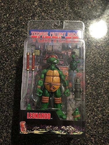 Teenage Mutant Ninja Turtles NECA Comic Style Action Figure Leonardo (Ninja Turtles Action Figures Neca)