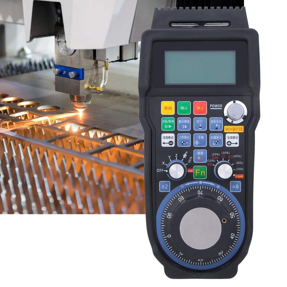 Support 100PPR Pulse CNC Tool Hand-Shake CNC Machining Centers for Cutting Systems Handheld CNC Handwheel
