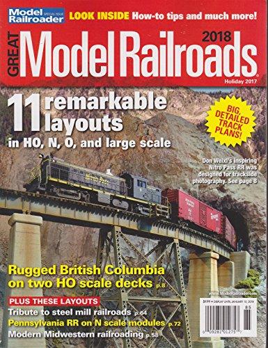 Model Railroader Magazine Holiday 2017   Great Model Railroads 2018