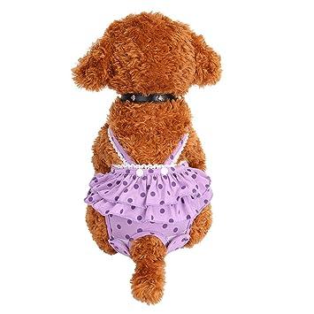 Steellwingsf Poodle - Pañales para mascotas con diseño de cachorro