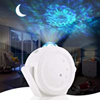 ALOVECO Star Projector, 3-in-1 LED Night Light Projector with Moon Star Nebula Cloud Touch&Voice Control Christmas…