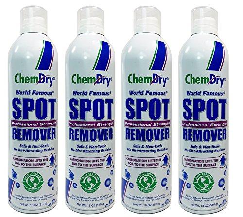 Chem-Dry Professional Strength Spot Remover 18oz (4 Pack) by Chem-Dry