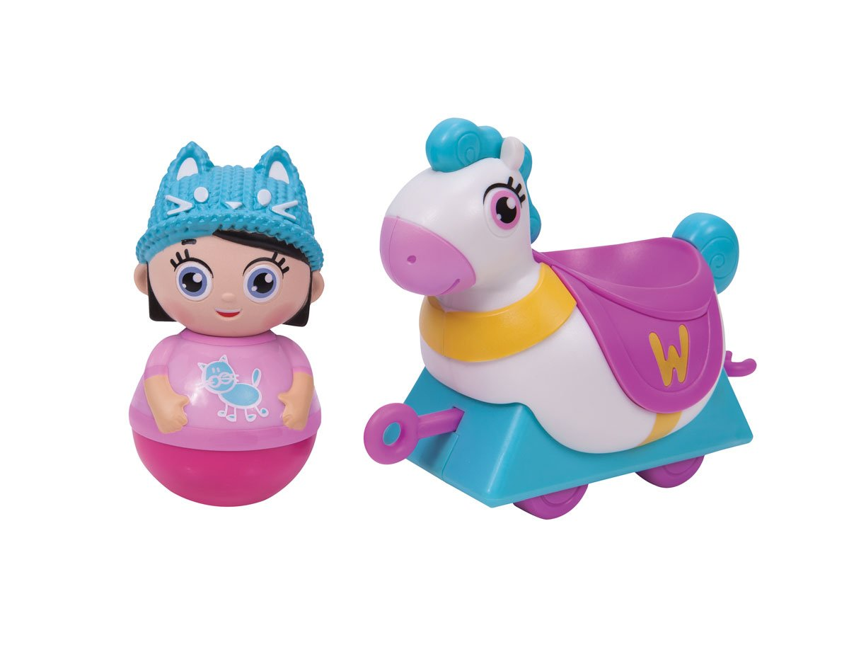 Weebles Wendy & Horse Toy