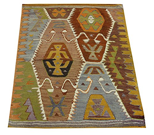 Kilim rug 2,9x2,2 feet Area rug Old rug Nomadic Kilim Rug Throw kilim rug Floor Kilim Rug Turkish Rugs Room Decor Accent Kilim Rug