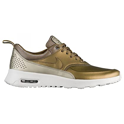 promo code 9d11c 71954 NIKE Air Max Thea Premium Womens Shoes Metallic FieldMetallic Field  616723-902 (6 B(M) US)