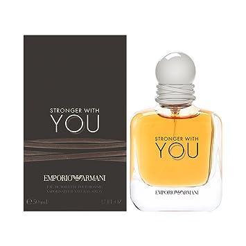 5444a27fda Amazon.com : Emporio Armani Stronger With You for Men Eau de Toilette Spray,  1.7 oz : Beauty