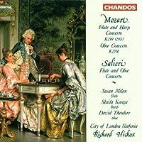Mozart: Flute and Harp Concerto; Oboe Concerto; Salieri: Flute and Oboe Concerto