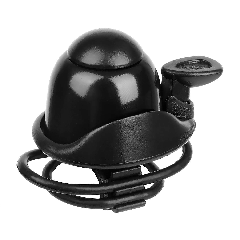 Tidoom Bike Bell Bicycle Bell 31.8 mm 22.2 mm Bike Handlebar Bell Ring Aluminum Black