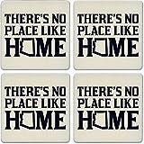 CoasterStone Absorbent Coasters (Set of 4), No Place Like Home Arizona, 4-1/4''