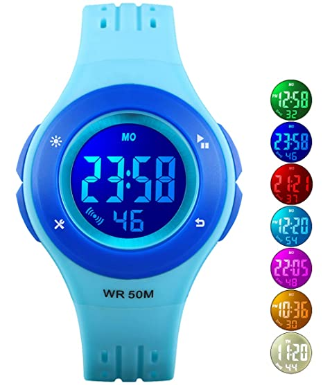 Children Safety Wristbands Boy Life Waterproof Clock Men Women Fashion Luminous Electronic Student Movement Wristwatches Gift Watches