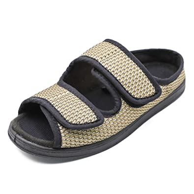46624d2a16886 Orthoshoes Women's Diabetic Shoes Orthopedic Sandals Wide Open Toe ...
