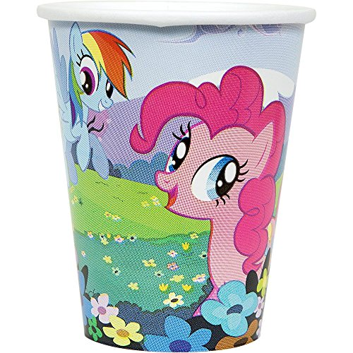 My Little Pony Friendship Magic 9 oz. Paper Cups (8) -