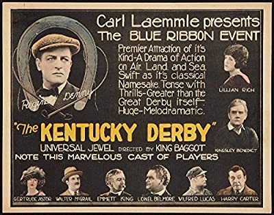 "11x14"" Old Tin Metal Sign The Kentucky Derby 22 Movie"