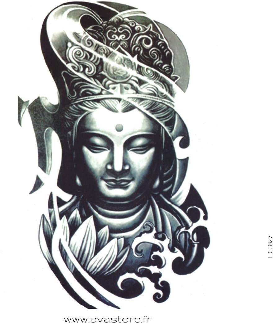 Tatuajes temporales BUDA - Tatuaje efímero Buda: Amazon.es: Belleza