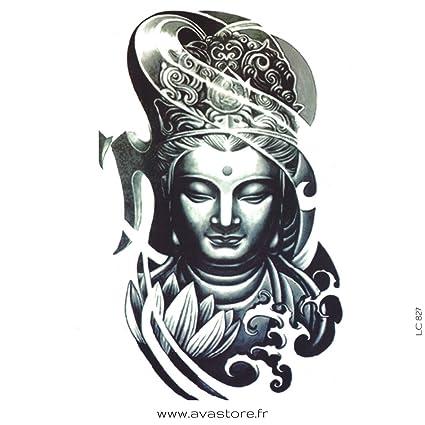 Tatouage Temporaire Bouddha Tatouage Ephemere Bouddha Avastore