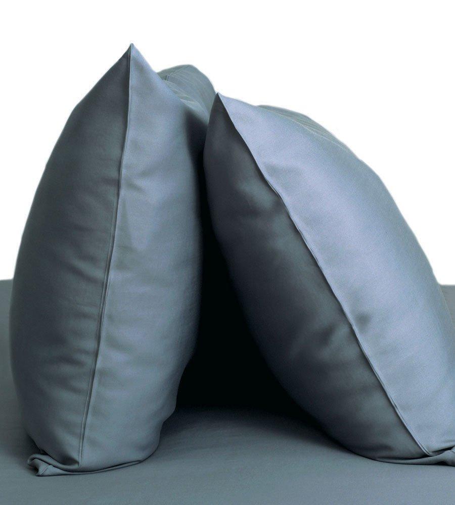 Cariloha Resort Bamboo Pillowcases 2 Piece Pillowcase Set - 100% Viscose from Bamboo Bedding (Standard, Blue Lagoon)