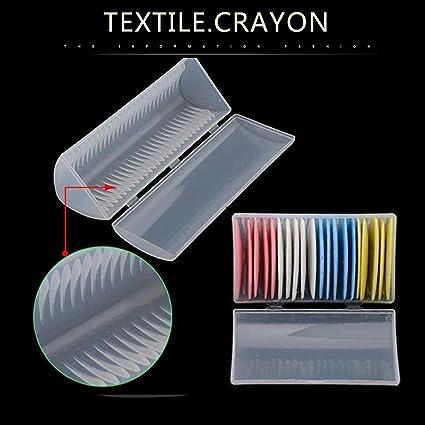 Nozioni e accessori Gessetto professionale da sarto a triangolo per tessuto da sarto blu 20 pezzi