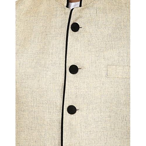 61VE9cArwiL. SS500  - Wintage Men's Rayon Waistcoat