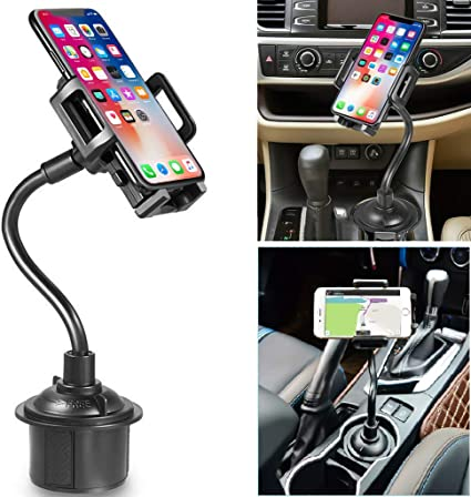 Magnetic Phone Car Mount Black Macally Car Phone Mount Holder for Dashboard with Strong Magnet Phone Holder Fits iPhone 11 Pro Xs Max XR X 8 7 6S 6 Plus and Most Smartphones