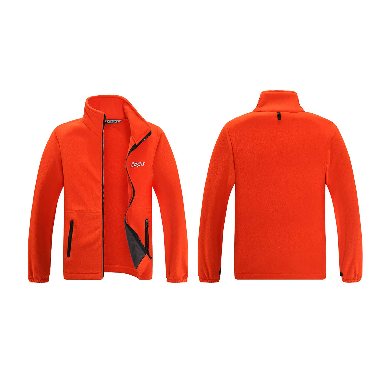 Minghe Kinder 3 in 1 Camouflage Jacke Thermo Ski Oberbekleidung Wasserdichte Kapuzenjacke Mantel abnehmbare Zweiteilige Anzug