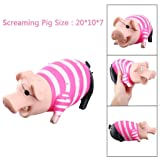 YJYdada Cute Shrilling Pig Squeaky Rubber Pig Toy